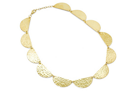 Half-Moon Choker, Gold