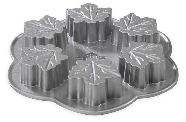 Maple Leaf Cakelet Pan
