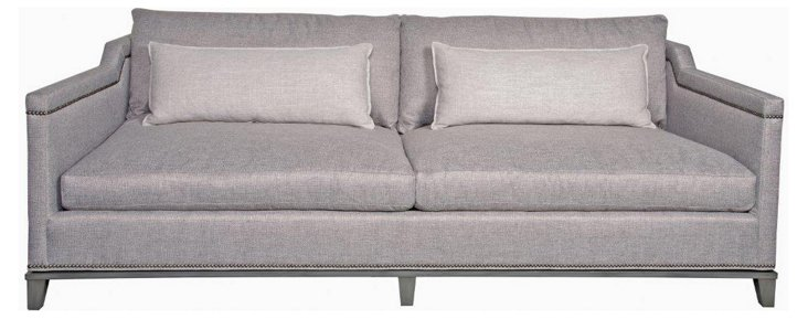 "Humphreys 91"" Sofa, Steel Gray"