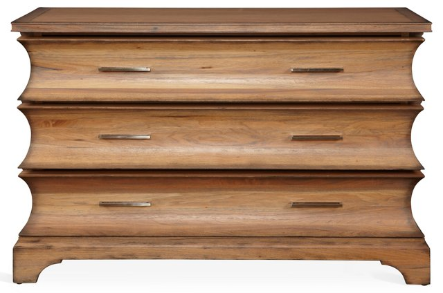 Pebble Hill 3-Drawer Chest, Sand