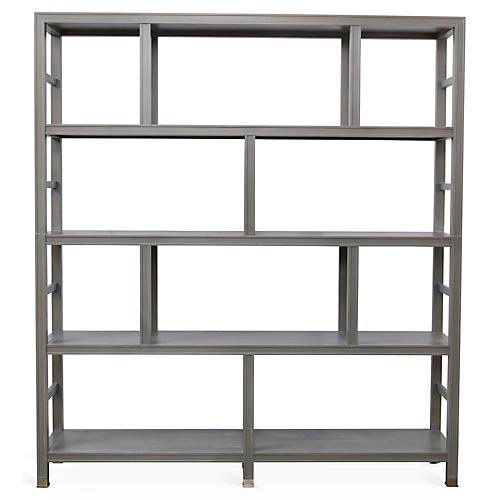 Washington Bookcase, French Gray