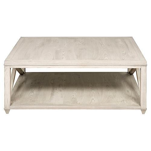 Landa Coffee Table, Graywash