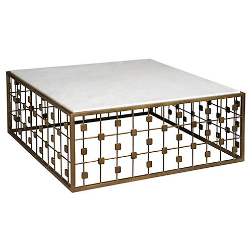 Sentosa Coffee Table, White