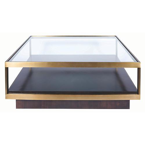 Nordin Coffee Table, Walnut