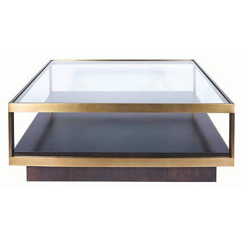 Nordin Coffee Table, Walnut