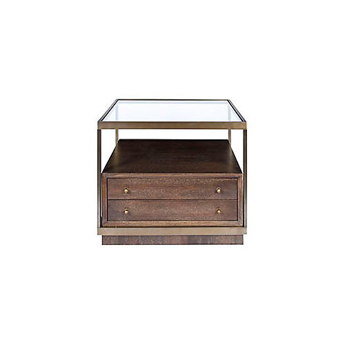 Nordin Nightstand, Walnut