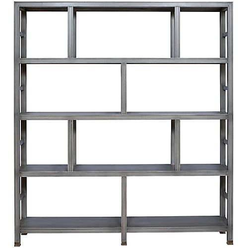Washington Bookcase, Dove Gray