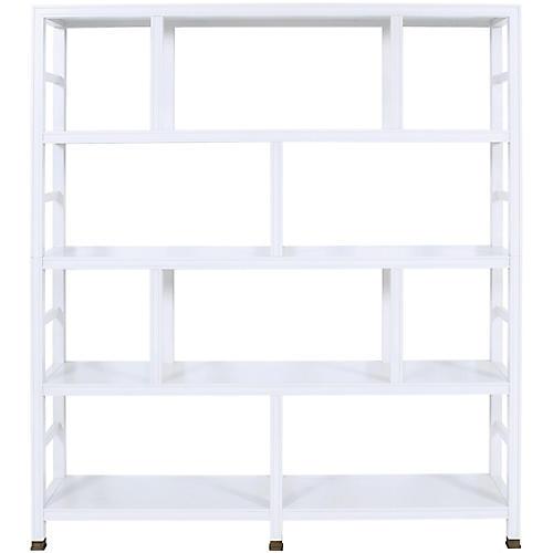 Washington Bookcase, Pure White