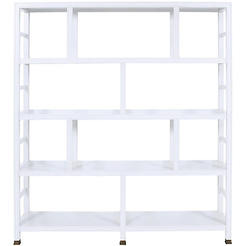 Washington Bookcase, Pure White
