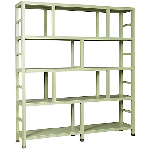 Washington Bookcase, Green