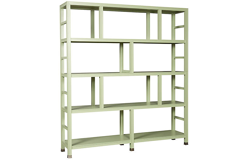 Washington Bookcase - Green