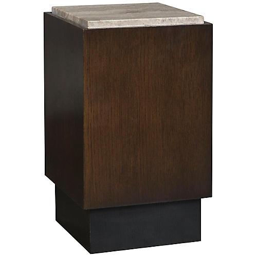 Nick Side Table, Brownstone