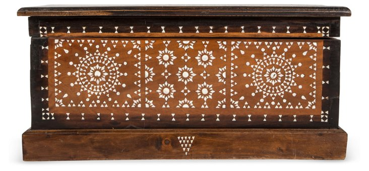 Mother-of-Pearl Inlaid Chest I