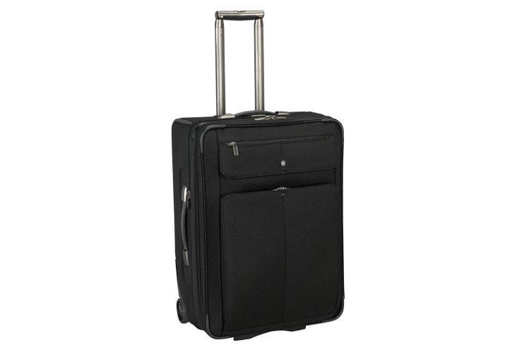 """24"""" Tourbach Wheeled Suitcase, Black"""