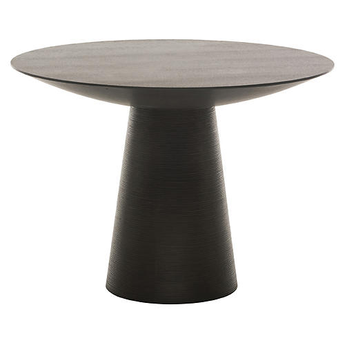 Dania Dining Table, Black