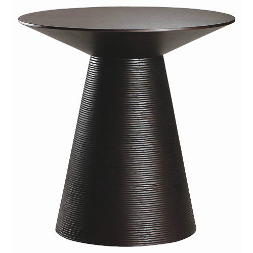 Anika Side Table, Black