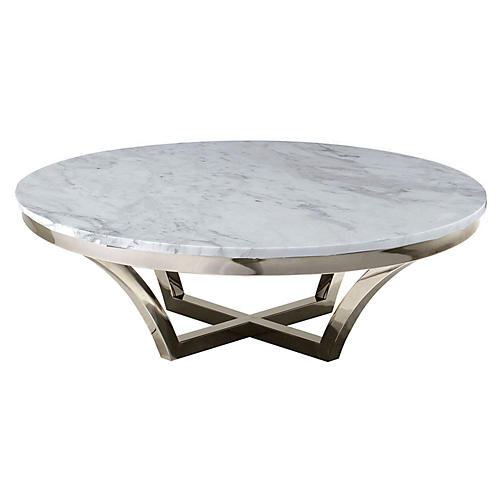 Aurora Marble Coffee Table