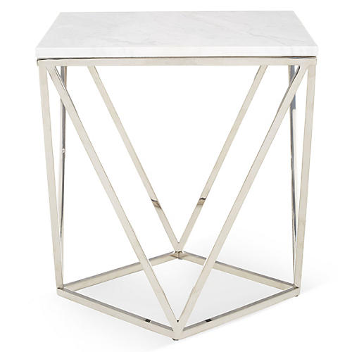 Jasmine Marble Side Table