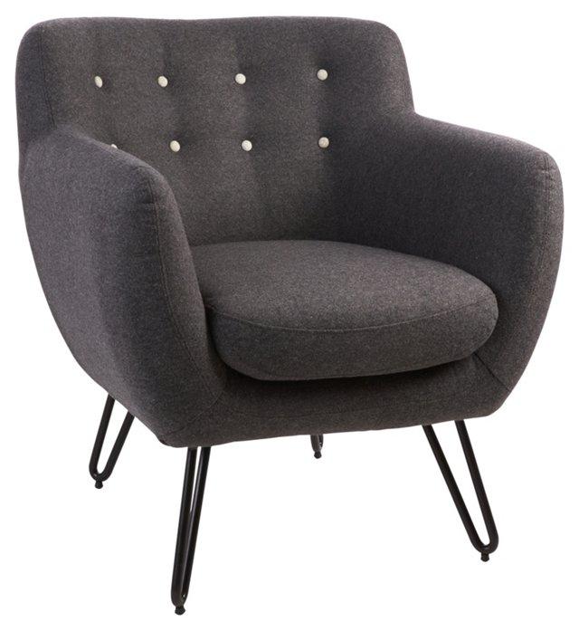 Briggs Armchair, Gray
