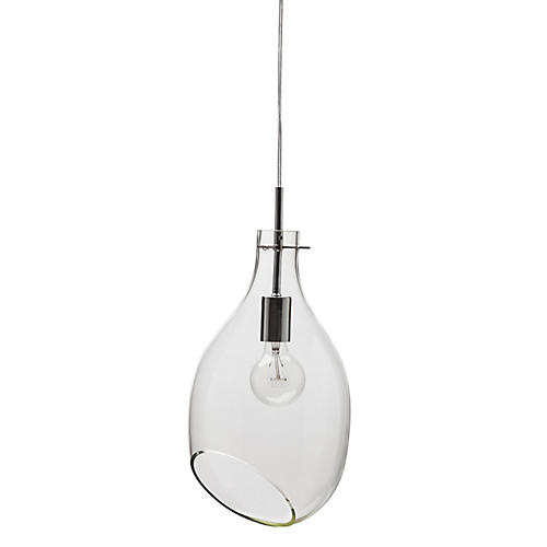 Volan Pendant Lamp, Clear