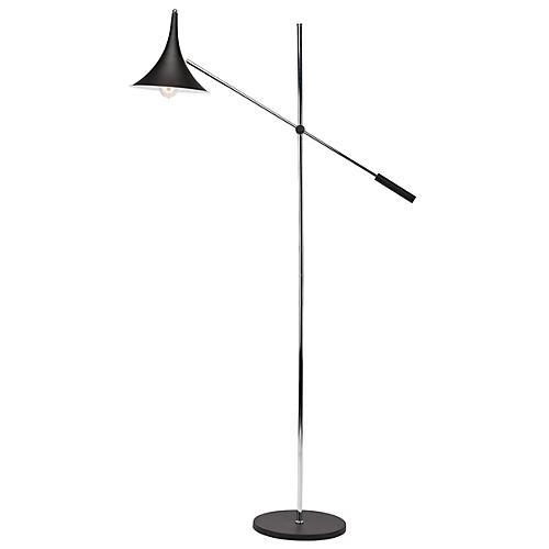 Parma Floor Lamp, Black