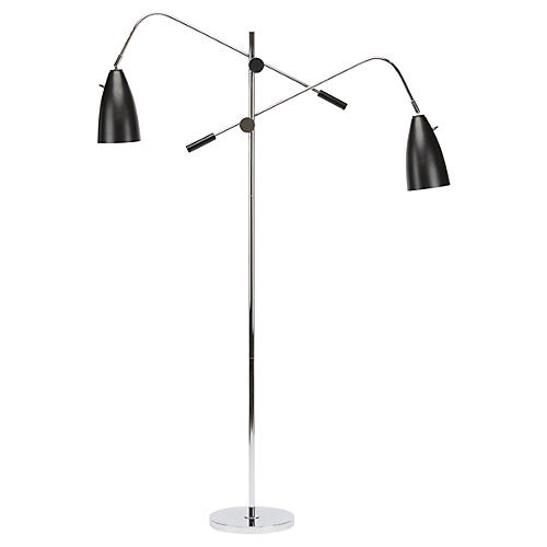 2-Light Amsterdam Floor Lamp