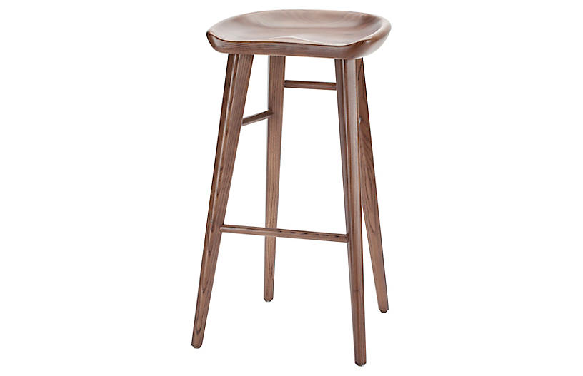 Camille Counter Stool, Brown