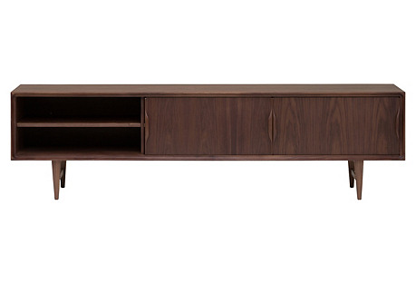 Elizabeth Media Cabinet, Walnut