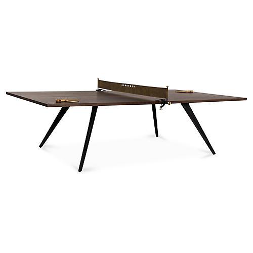 Ping-Pong Table, Smoked Oak