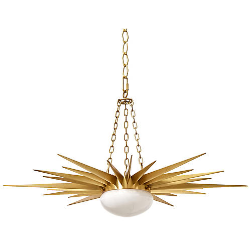 Solana Pendant, Brass