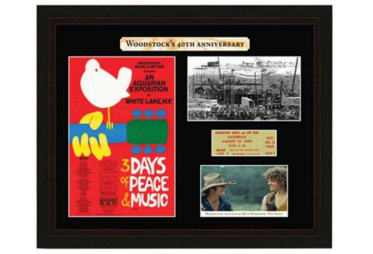 Woodstock Commemorative Keepsake