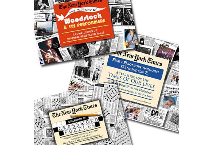 Vintage Newspaper Set: Boomer Generation