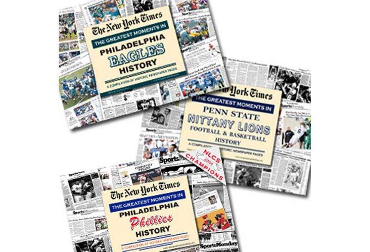 Vintage News Set: Philly Sports