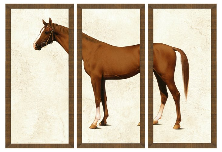 Horse Triptych I