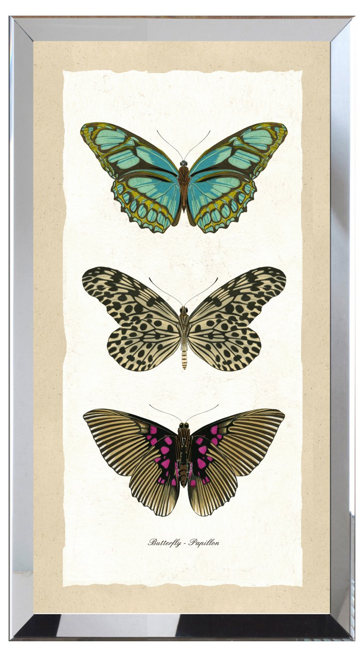 Butterfly Panel Print I