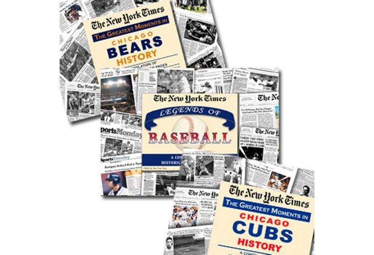 Vintage Newspaper Set: Chicago Sports