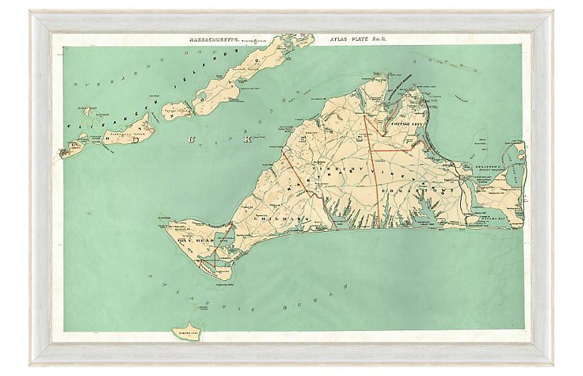 Martha's Vineyard Map