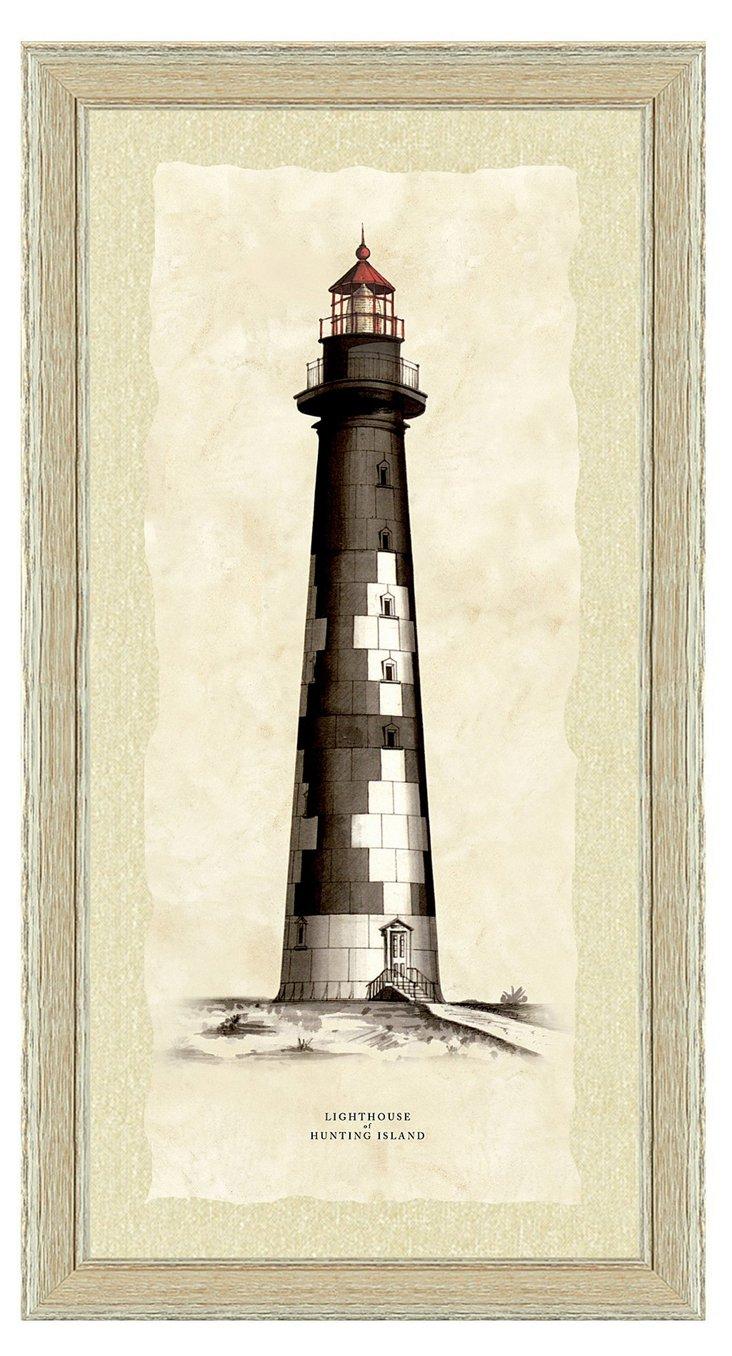 Lighthouse Print I