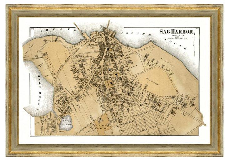 Sag Harbor Map