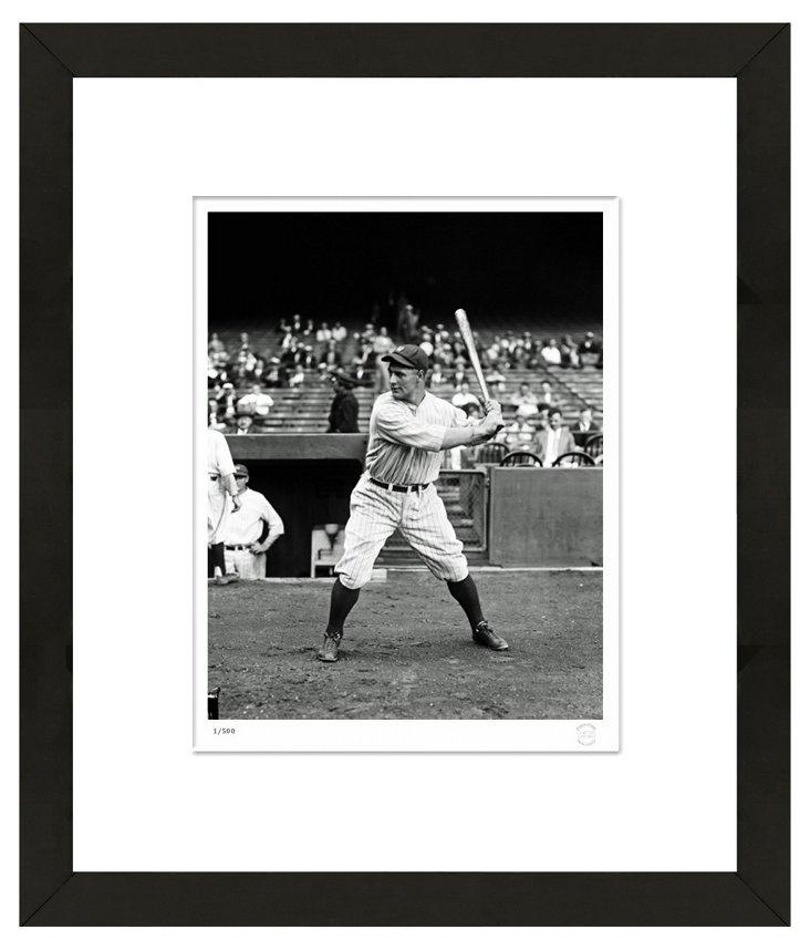 Lou Gehrig Press Photo
