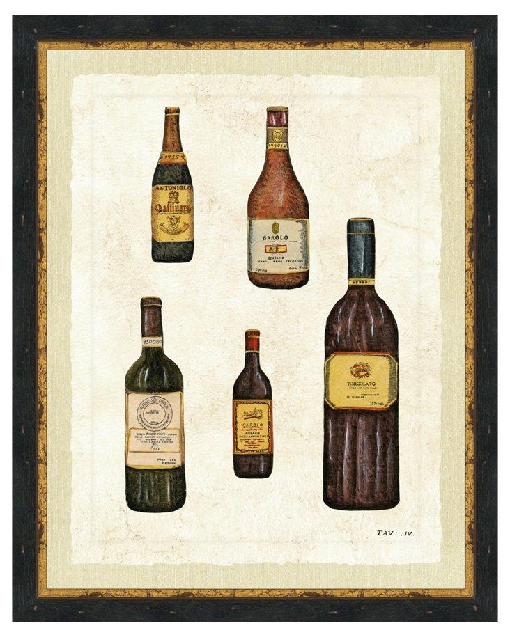 Wine Print IV