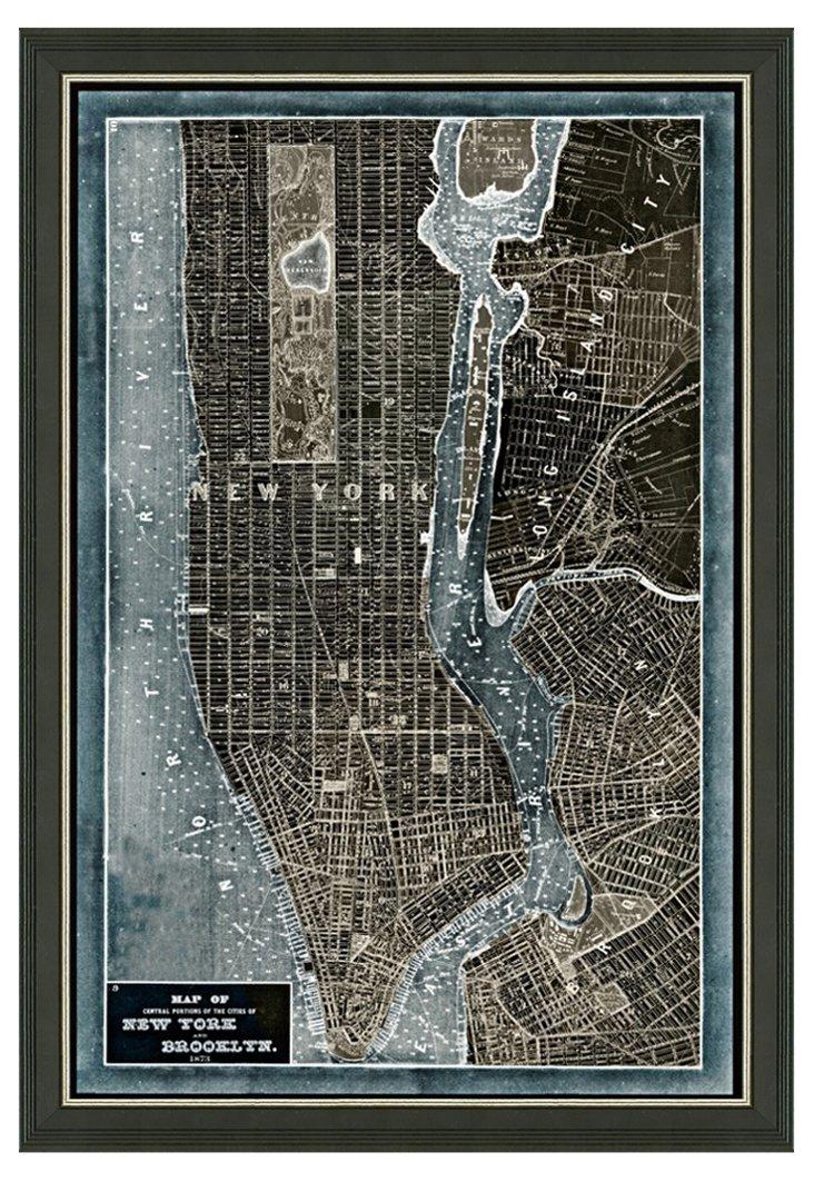 New York Denim Map