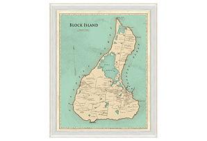 Map of Block Island