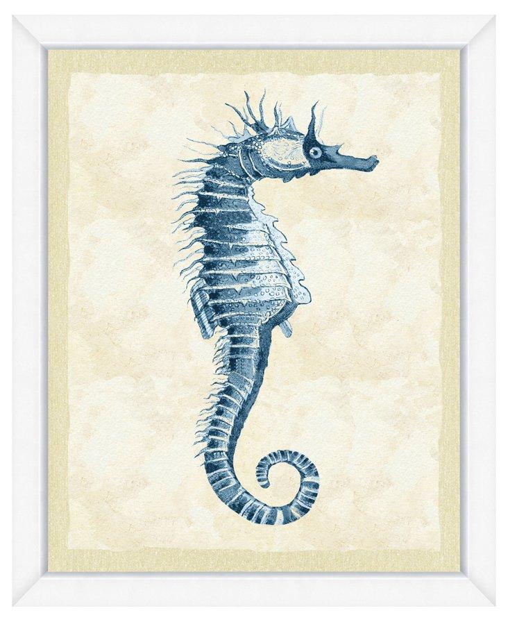Blue Seahorse II