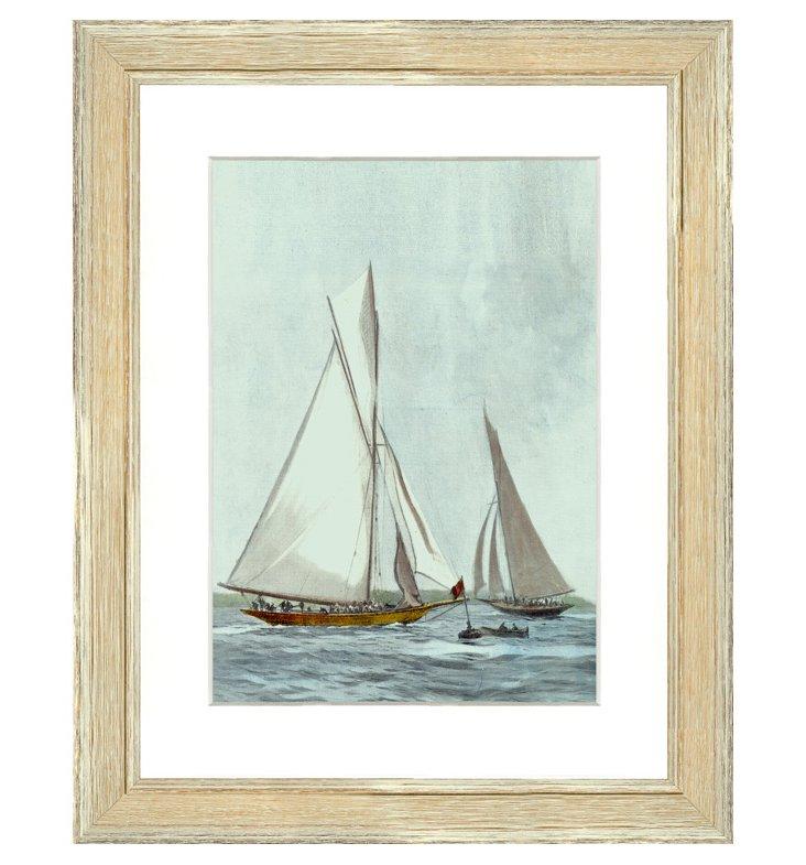 Sailboat Print I