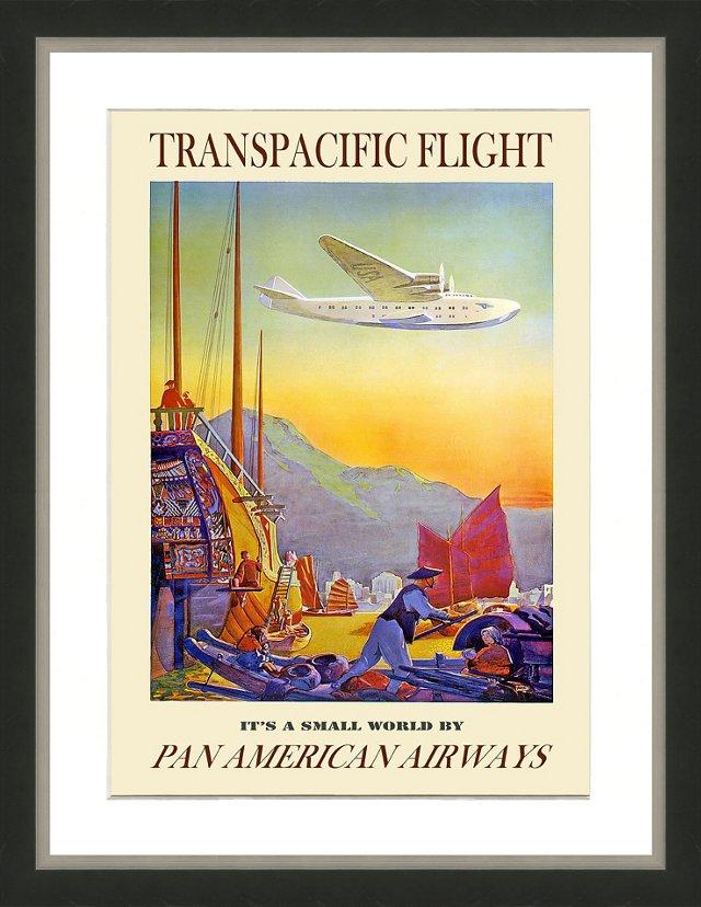 Pan Am Travel Poster