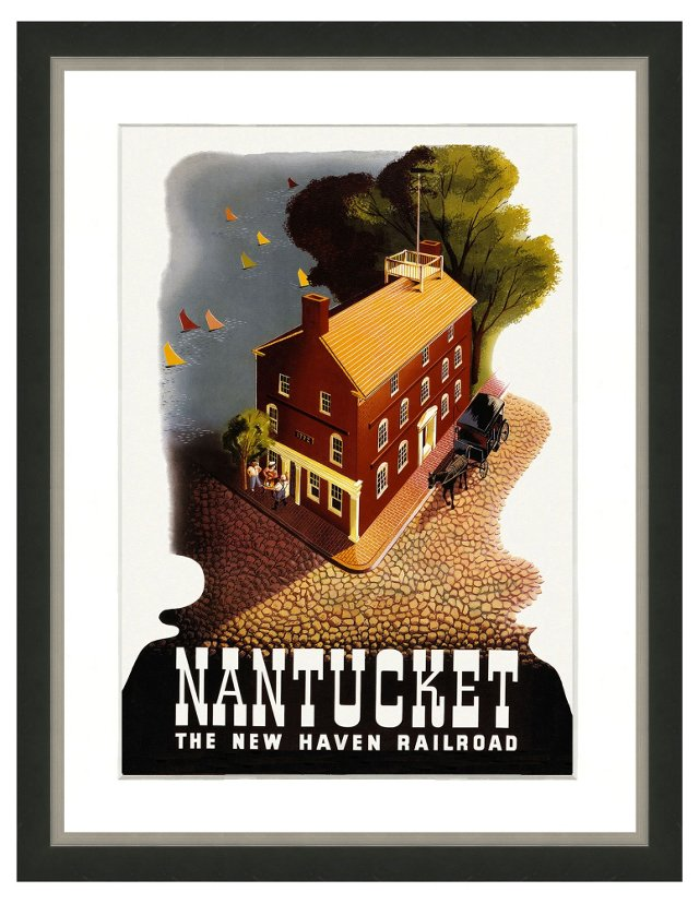 Travel Poster -Nantucket