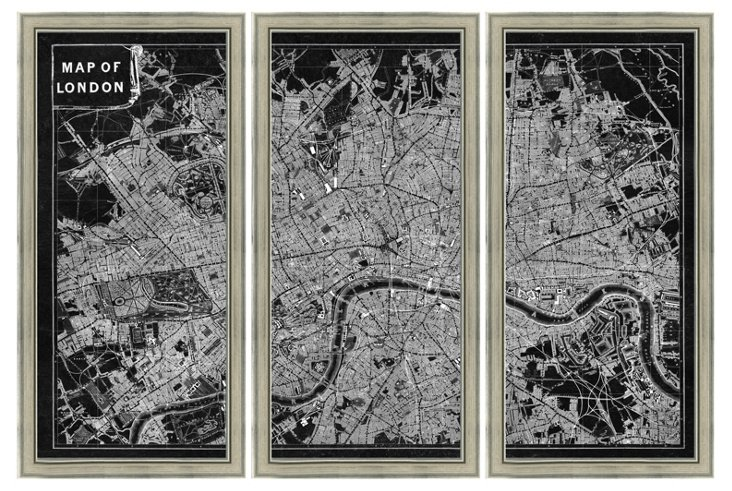 Inverted London Triptych
