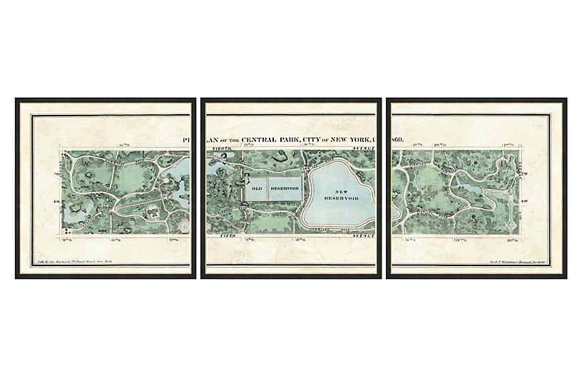 Central Park Triptych