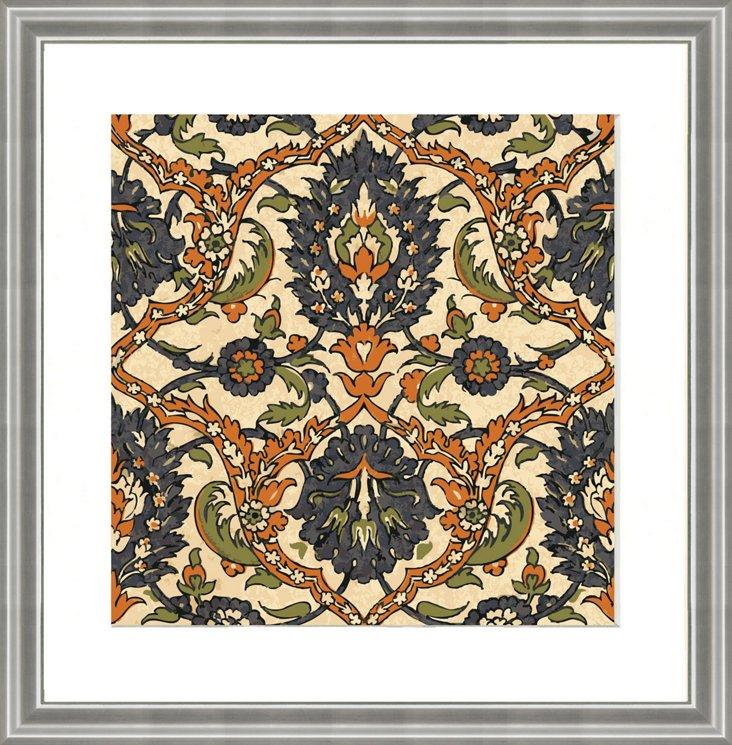 Persian Pattern Print VI